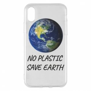 iPhone X/Xs Case No plastic save earth