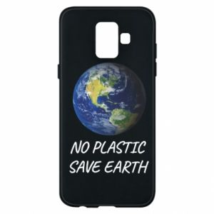 Samsung A6 2018 Case No plastic save earth