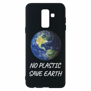 Samsung A6+ 2018 Case No plastic save earth