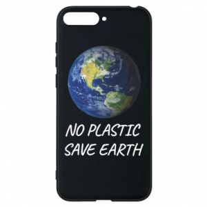 Huawei Y6 2018 Case No plastic save earth