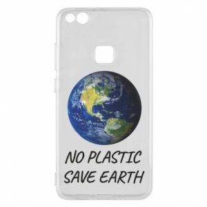 Huawei P10 Lite Case No plastic save earth