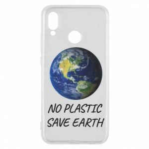 Huawei P20 Lite Case No plastic save earth