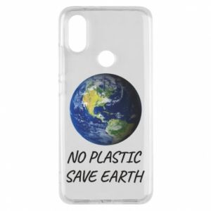 Xiaomi Mi A2 Case No plastic save earth