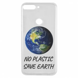 Huawei Y7 Prime 2018 Case No plastic save earth