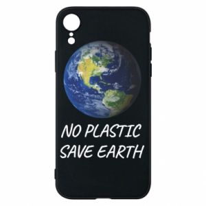 iPhone XR Case No plastic save earth