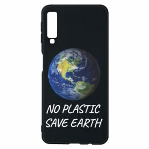 Samsung A7 2018 Case No plastic save earth