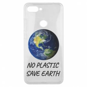 Xiaomi Mi8 Lite Case No plastic save earth