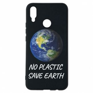 Huawei P Smart Plus Case No plastic save earth