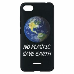 Xiaomi Redmi 6A Case No plastic save earth