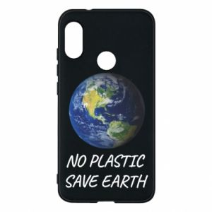 Mi A2 Lite Case No plastic save earth