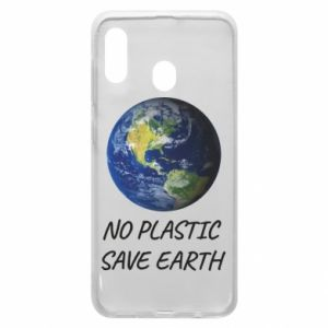 Samsung A20 Case No plastic save earth
