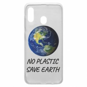 Samsung A30 Case No plastic save earth