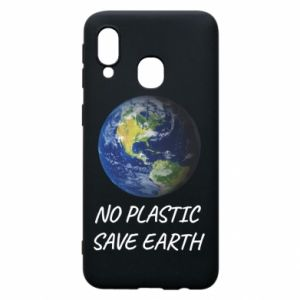 Samsung A40 Case No plastic save earth