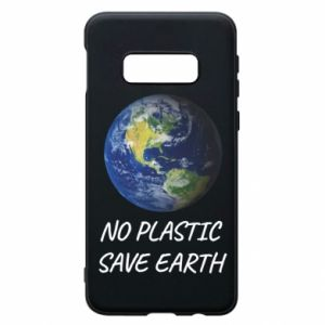 Samsung S10e Case No plastic save earth