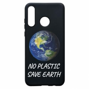 Huawei P30 Lite Case No plastic save earth