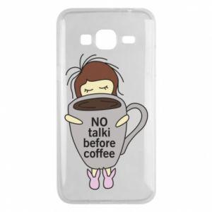 Etui na Samsung J3 2016 No talki before coffee
