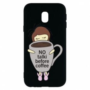 Etui na Samsung J3 2017 No talki before coffee