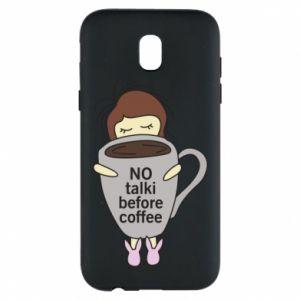 Etui na Samsung J5 2017 No talki before coffee