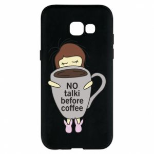 Etui na Samsung A5 2017 No talki before coffee