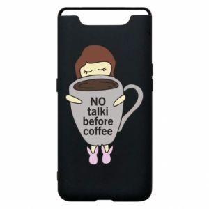 Etui na Samsung A80 No talki before coffee