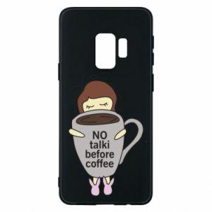 Etui na Samsung S9 No talki before coffee