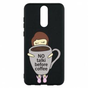 Etui na Huawei Mate 10 Lite No talki before coffee