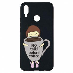 Etui na Huawei P Smart Plus No talki before coffee
