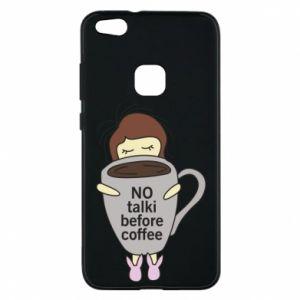 Etui na Huawei P10 Lite No talki before coffee