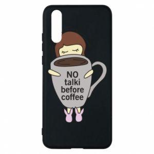Etui na Huawei P20 No talki before coffee