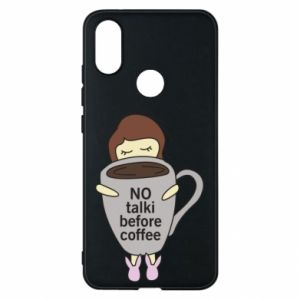 Etui na Xiaomi Mi A2 No talki before coffee