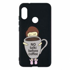 Etui na Mi A2 Lite No talki before coffee