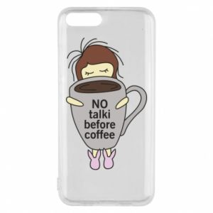 Etui na Xiaomi Mi6 No talki before coffee