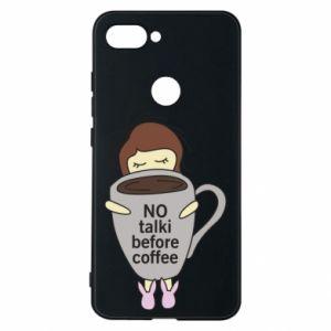 Etui na Xiaomi Mi8 Lite No talki before coffee