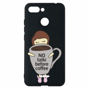 Etui na Xiaomi Redmi 6 No talki before coffee