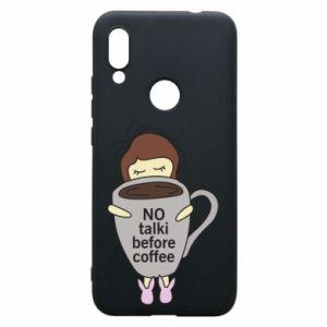 Etui na Xiaomi Redmi 7 No talki before coffee
