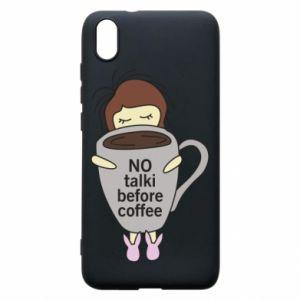 Etui na Xiaomi Redmi 7A No talki before coffee
