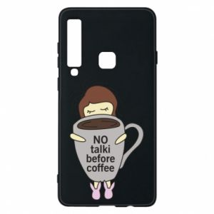 Etui na Samsung A9 2018 No talki before coffee