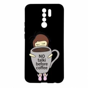 Etui na Xiaomi Redmi 9 No talki before coffee