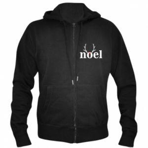Men's zip up hoodie Noel