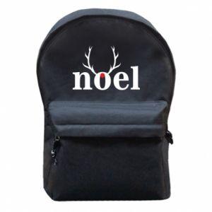 Backpack with front pocket Noel