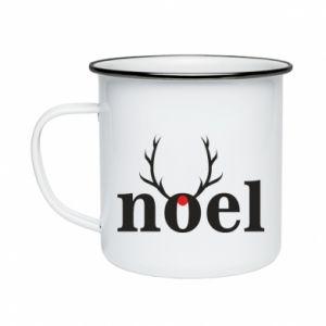 Enameled mug Noel