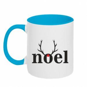 Two-toned mug Noel