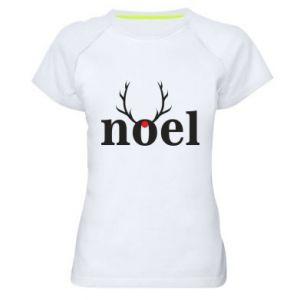 Women's sports t-shirt Noel
