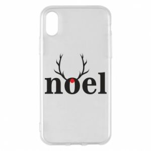 Phone case for iPhone X/Xs Noel