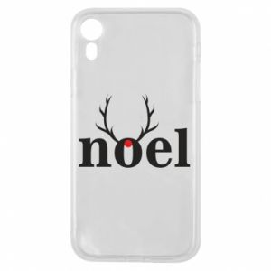 Phone case for iPhone XR Noel