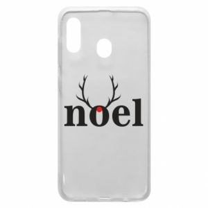 Phone case for Samsung A20 Noel
