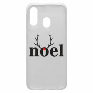 Phone case for Samsung A40 Noel