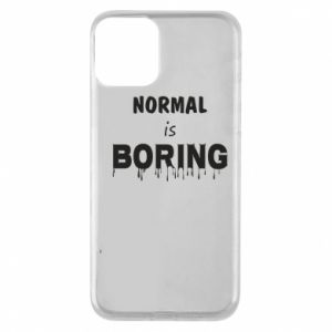 Etui na iPhone 11 Normal is boring