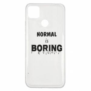 Etui na Xiaomi Redmi 9c Normal is boring