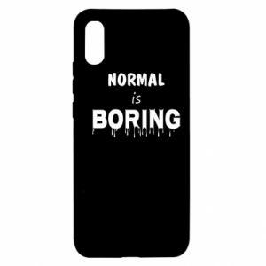 Etui na Xiaomi Redmi 9a Normal is boring